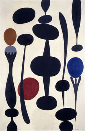 Silhouettes, 1938 by Paule Vézelay.