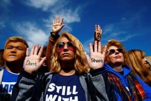 Protestor Daisy Hernandez has a simple message