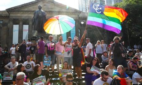 Australia says yes to same-sex marriage – video