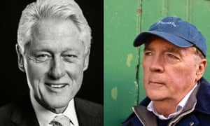 Bill Clinton and James Patterson.