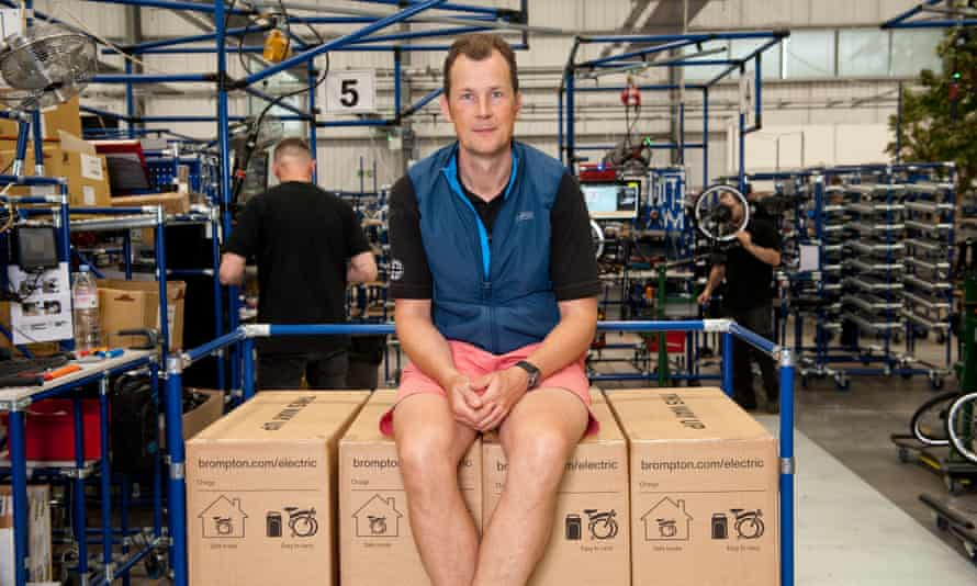 Will Butler-Adams, the CEO of Brompton, says the company is struggling to keep up with demand.