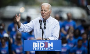 Questions are being raised about whether Joe Biden's campaign is geared to withstand a crowded primary.