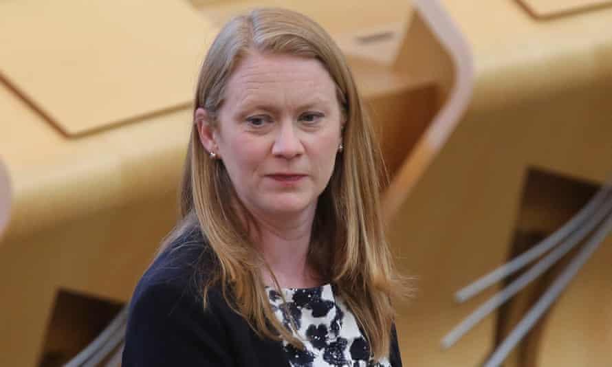 The Scottish education secretary, Shirley-Anne Somerville