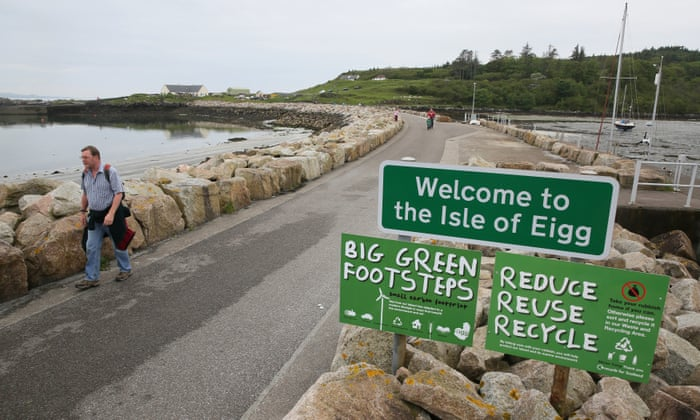 Eigg Britain S Most Eco Friendly Island Travel The Guardian