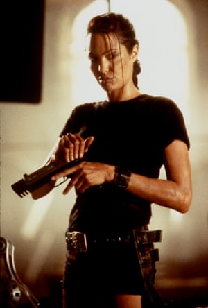 Angelina Jolie in 2001's Lara Croft Tomb Raider