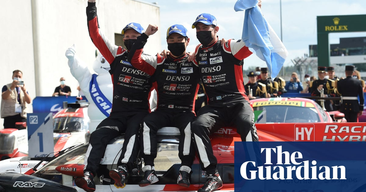 Toyota take historic Le Mans 24 Hours victory in new Hypercar class
