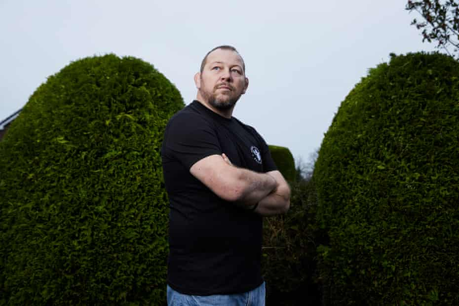 Steve Thompson at home. 'I don't want to kill the game. I want it regulated.'