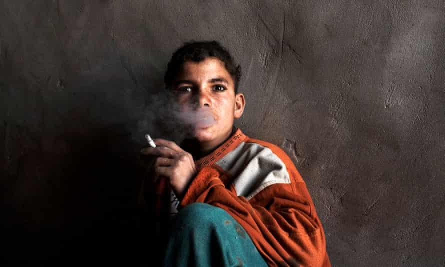 brick factory worker helwan cairo