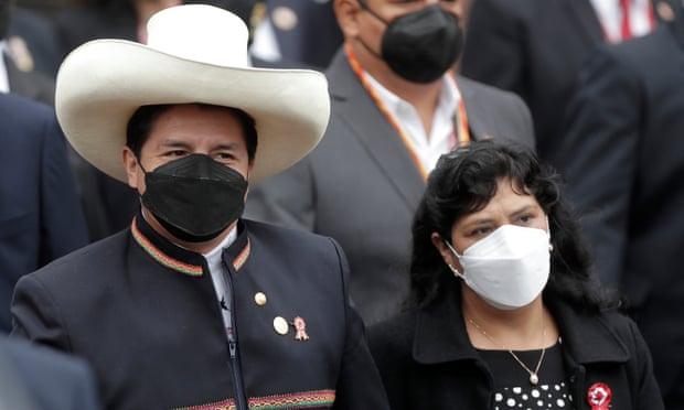 Peru,Pedro Castillo,Peru's president,the capital of Lima, Francisco Sagasti, Keiko Fujimori,Covid-19,harbouchanews