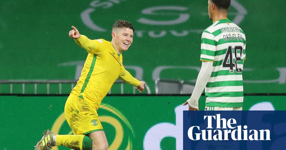 Celtic draw with Hibs despite 13 players isolating after positive Covid-19 test