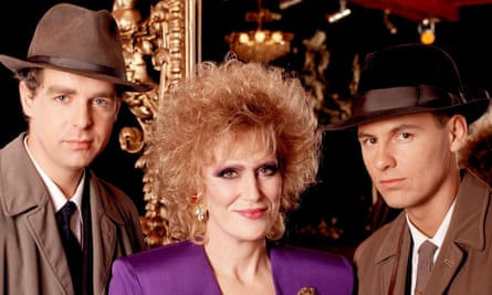 Pet Shop Boys and Dusty Springfield in 1988: the pan-generational duet has gone the way of all pop flesh.