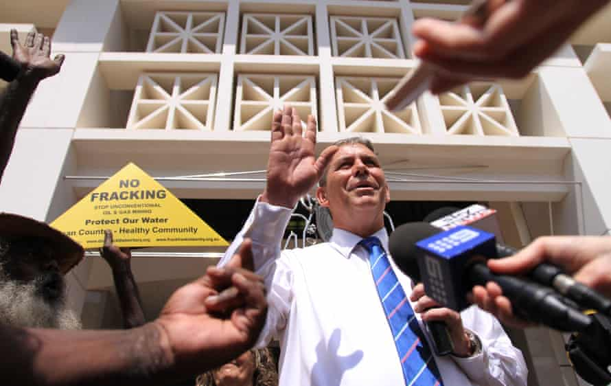 Dave Tollner, the Northern Territory minister for planning