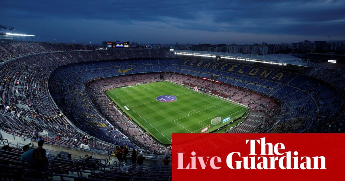 Barcelona v Valencia: La Liga – live!