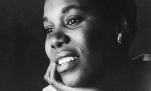 """Paule Marshall in 1962, three years after the appearance of her first novel, Brown Girl, Brownstones. She took the first part of her pen-name from that of the African-American poet Paul Laurence Dunbar, adding a silent """"e""""."""