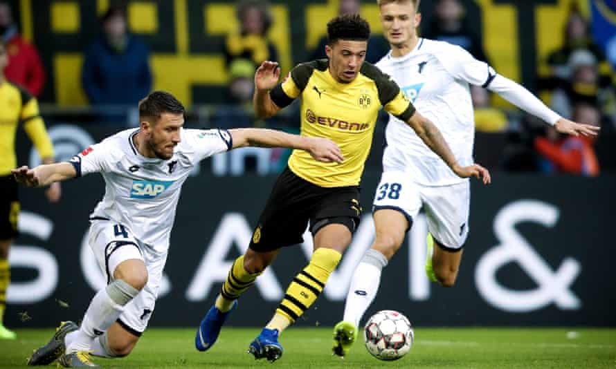 Jadon Sancho has thrived at Dortmund since leaving the UK as a 17-year-old – it's unclear if that would be possible in a post-Brexit Premier League.