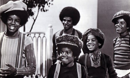 The Jackson 5, from left, Jermaine, Michael (front), Jackie, Marlon and Tito.