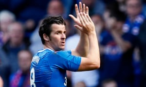 Joey Barton creates some noise with Rangers.