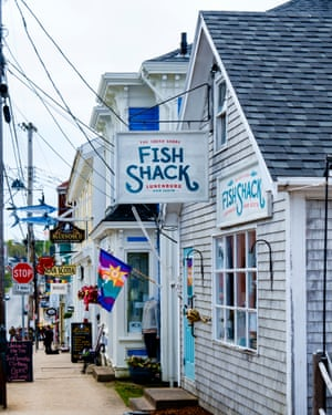 The South Shore Fish Shack in Lunenburg, Nova Scotia.