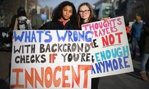 Jasmine Rachele, 16, and Sarah Crosier, 17, from Manchester, VT