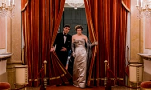 … Tom Burke and Honor Swinton Byrne in The Souvenir.
