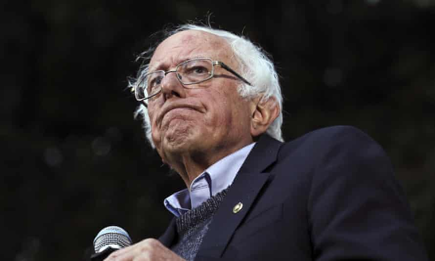Bernie Sanders was released from the hospital on Friday.