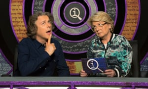 She undercuts the show's worst tendencies … Sandi Toksvig with Alan Davies.