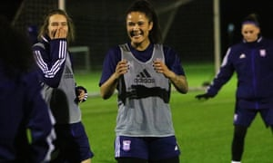 Ipswich forward Natasha Thomas: 'Things here have changed drastically. I've been in shops and people recognise you. It's nice to know we are making people smile.'