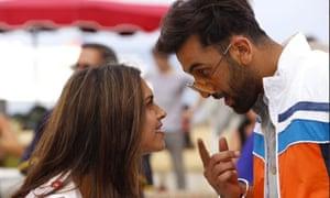 Deepika Padukone and Ranbir Kapoor in Tamasha, directed by Imtiaz Ali.