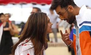 Deepika Padukone and Ranbir Kapoor in Tamasha.