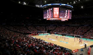 A packed Qudos Bank Arena in Sydney