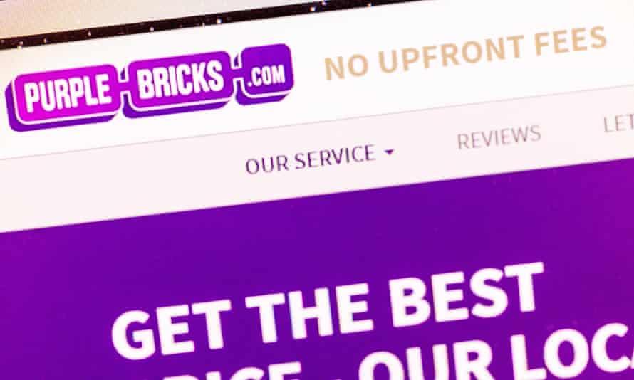 Online estate agent Purplebricks.