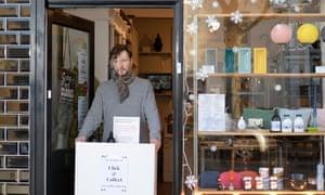 Michael Donovan owner of homeware boutique Rouilier White