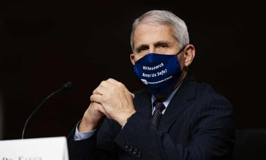 Dr Anthony Fauci in Washington DC, on 23 September.
