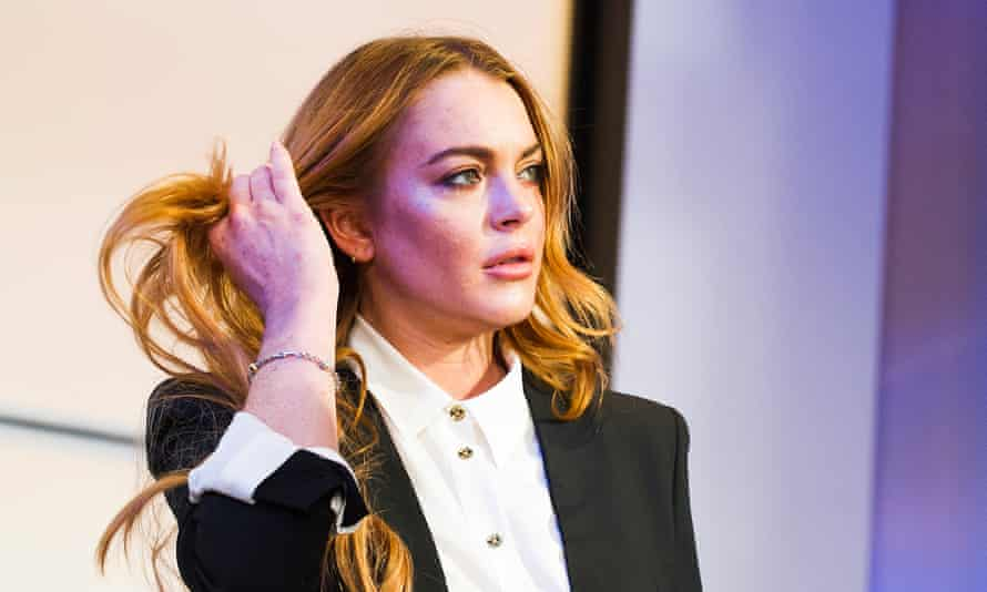 Lindsay Lohan in Speed-the-Plow