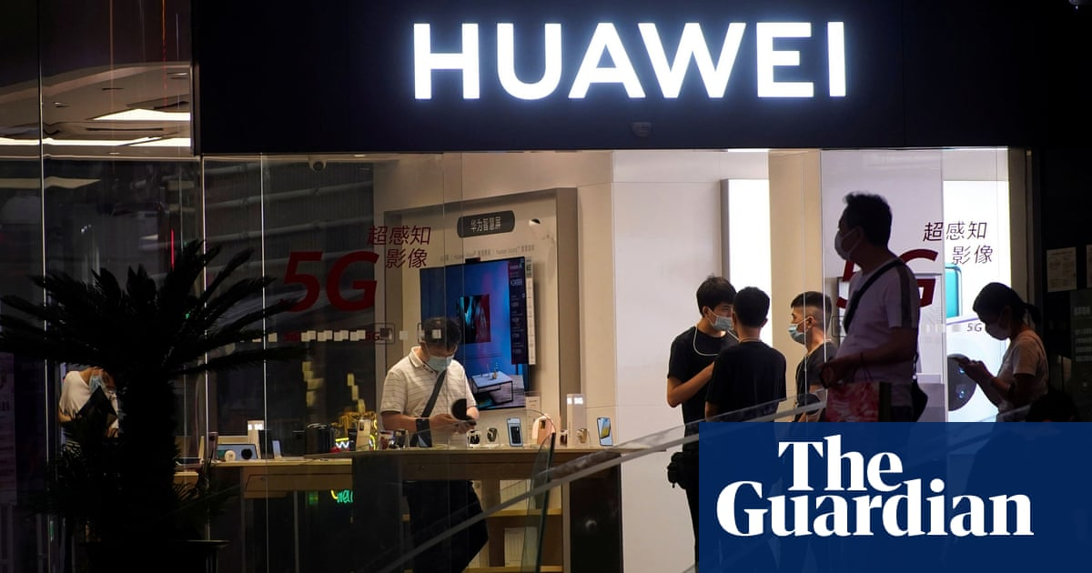 BT and Vodafone told to stock up on Huawei kit over US sanctions