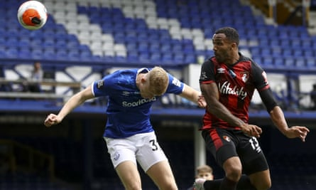 Callum Wilson (here in action against Everton in July) scored eight Premier League goals for Bournemouth last season and scored on his full England debut in 2018.