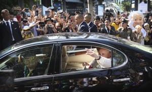 Francis is expected to highlight his admiration in Thailand for the community's missionary ancestors who brought the faith to this Buddhist nation centuries ago and endured bouts of persecution as recently as the 1940s.