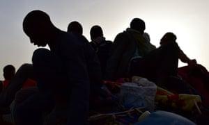 West African migrants