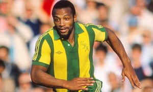 Cyrille Regis in action for West Brom in 1980