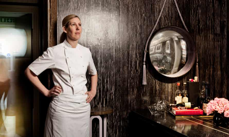 Clare Smyth photographed at Restaurant Gordon Ramsay, London SW3
