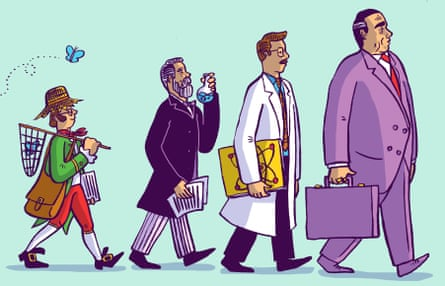 illustration by Dom Mckenzie for science publishing long read