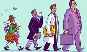 Dom Mckenzie illustration for long read about scientific publishing