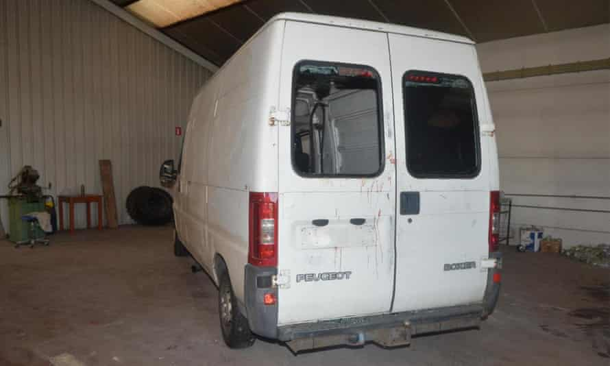 The Peugeot boxer van in which two-year-old Mawda was shot dead by police