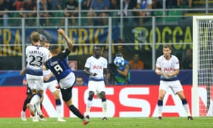 Mauro Icardi volleys in a sublime equaliser to pave the way to Inter's dramatic win.