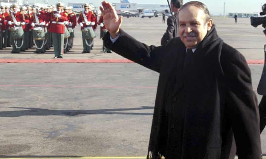Algerian president, Abdelaziz Bouteflika, in 2005.