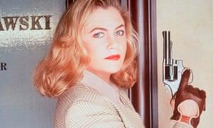 Tough ... Kathleen Turner as VI Warshawski.
