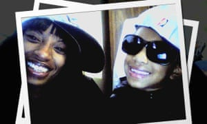 Charleena Lyles, left. 'She's not a threatening person at all,' said Monika Williams, Lyles's sister. 'She was just one of those people who lit up the room.'