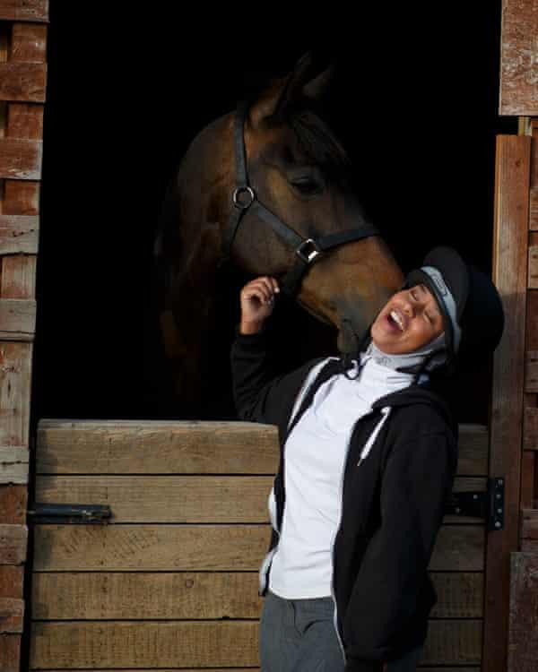 Khadijah Mellah is adamant she will not be seen as a 'fake jockey' and hopes to gain a professional racing licence.