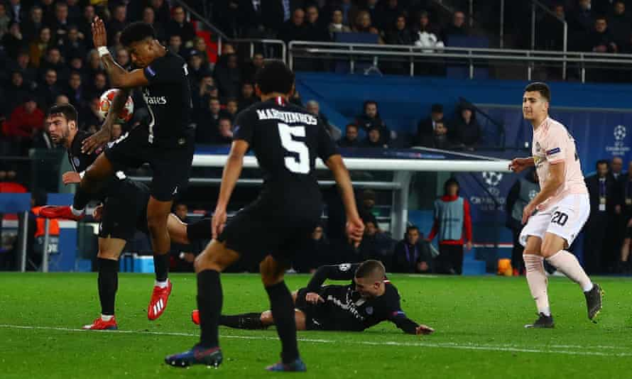 Was Manchester United's win in Paris after a VAR penalty decision for this handball a sign that moments of luck are going the way of Premier League clubs?