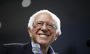 Bernie Sanders at event in Spartanburg, South Carolina. This week he ridiculed the idea that he was extreme: 'I don't it's radical for working people to live in dignity and security.